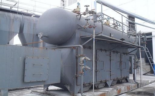 热管预热锅炉使用中